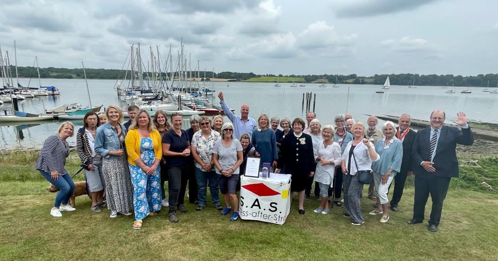 Success After Stroke receive the Queen's Award for Voluntary Service 2021