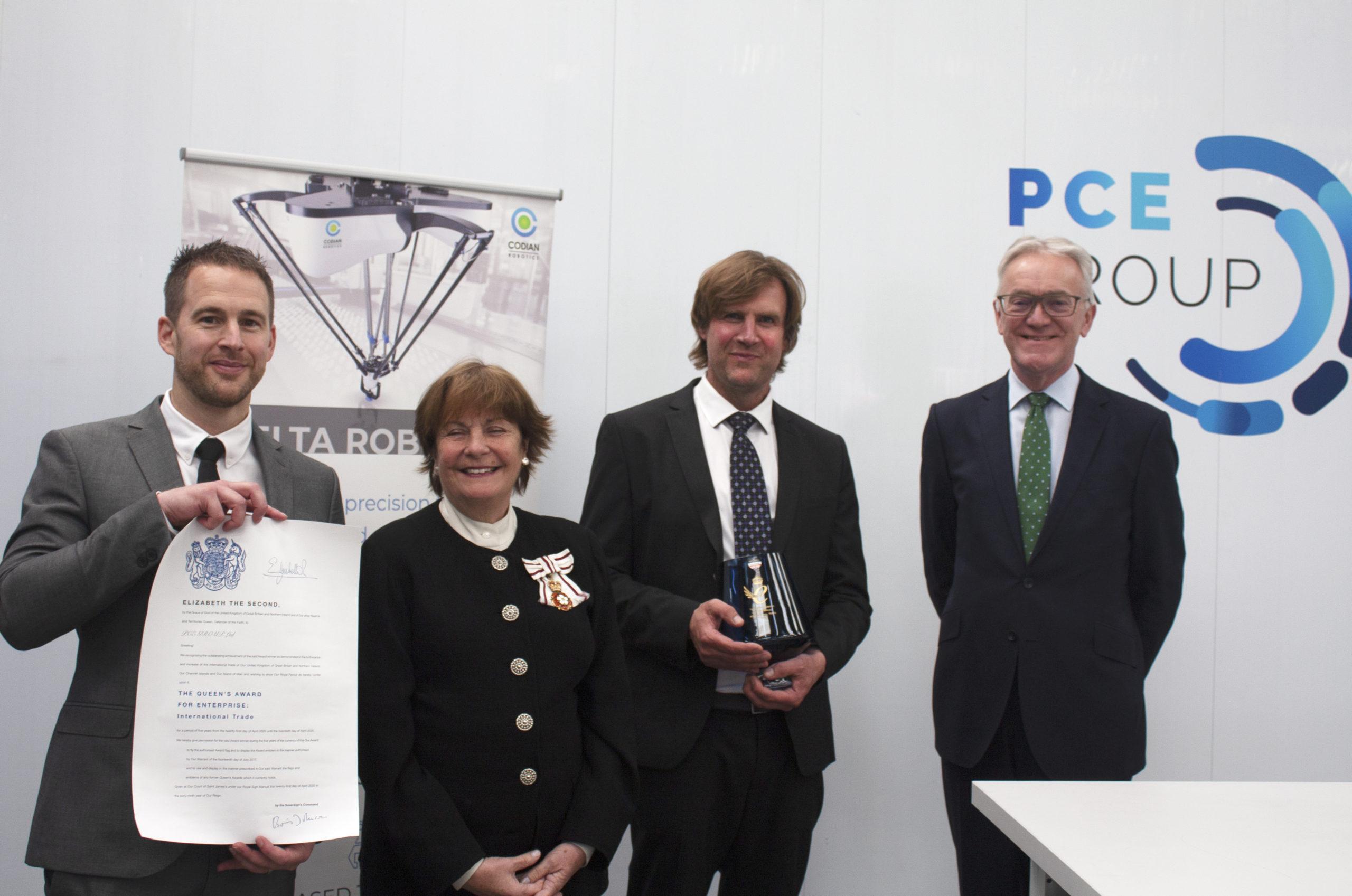 PCE Group receive the Queen's Award for Enterprise