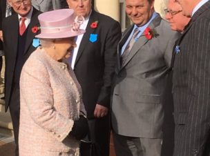 The Queen's Visit to Newmarket