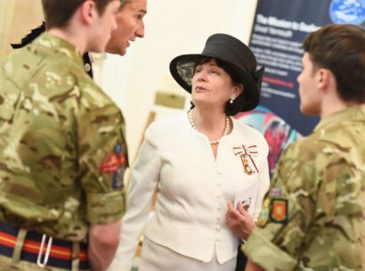 Lord Lieutenant with Cadets