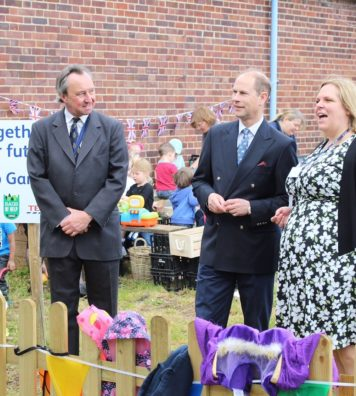 Prince Edward at Haverhill School